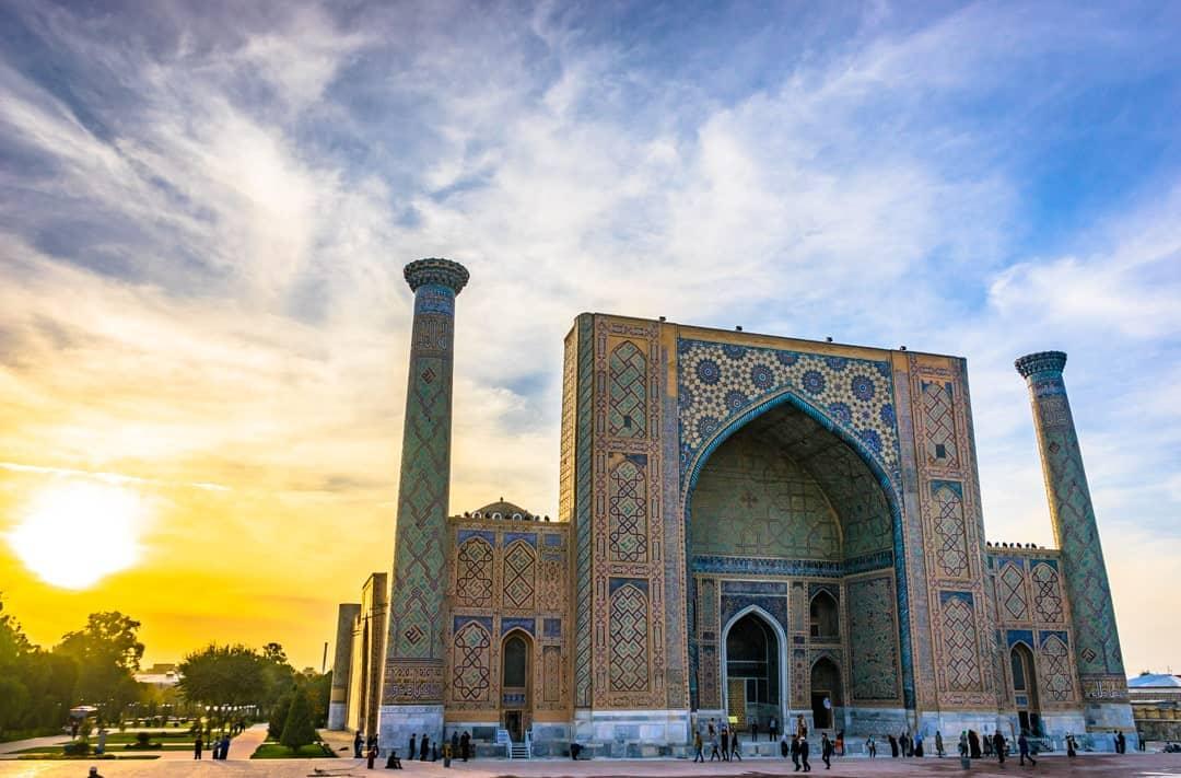 Samarkand Sunset Silk Road Photo Journey