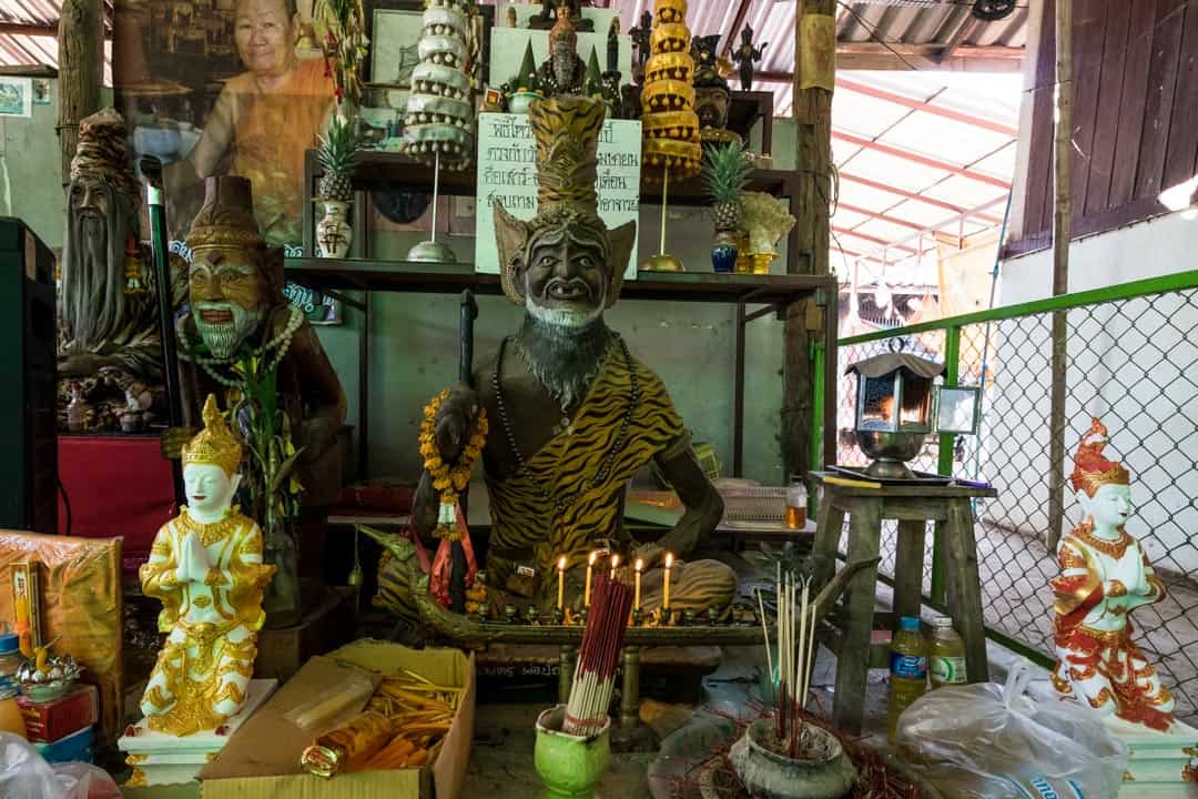 Shrine Sak Yant In Chiang Mai
