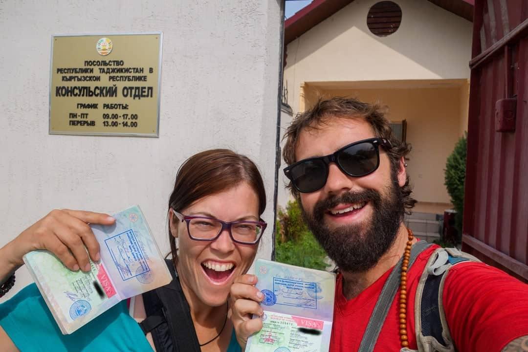 Tajik Embassy Bishkek Visa Gbao Permit Pamir Highway