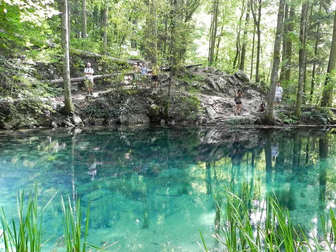 Lake Hiking In Romania