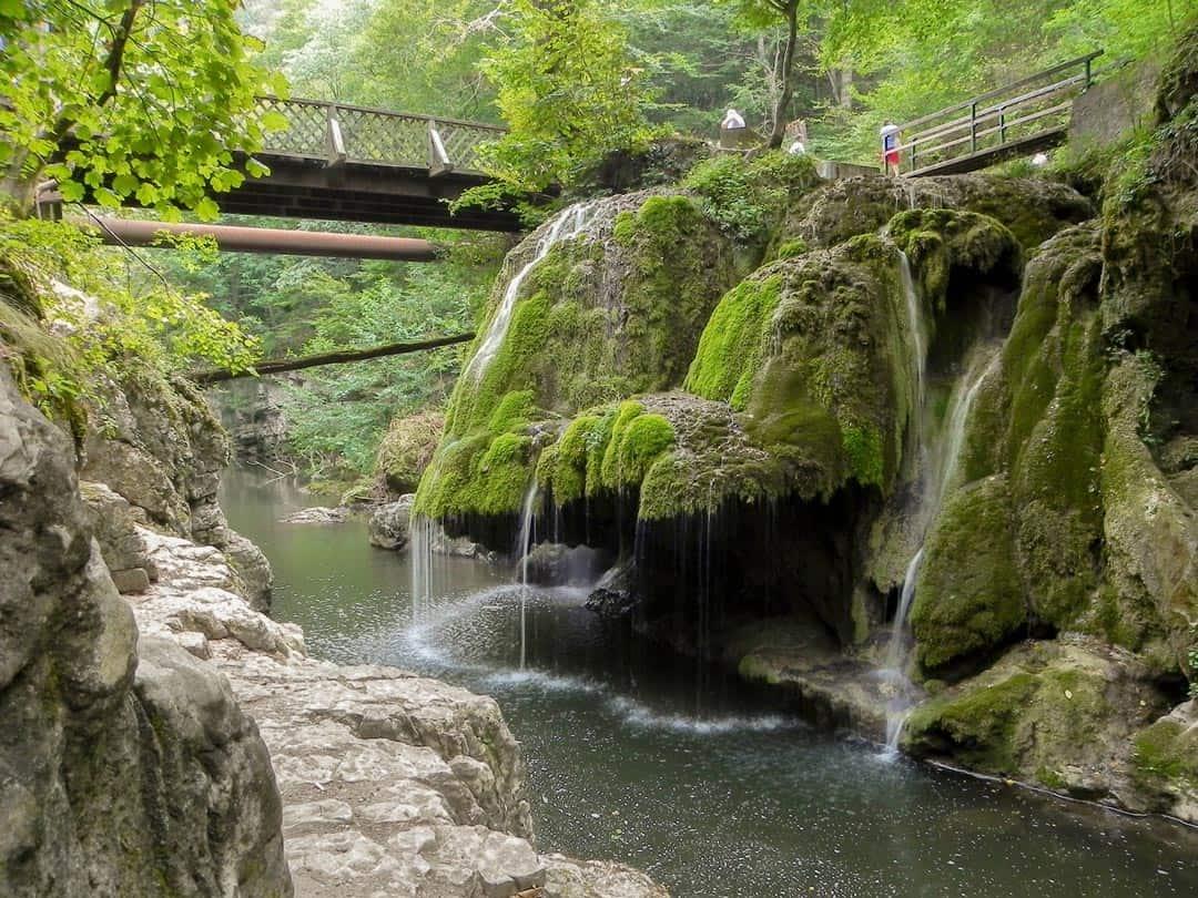 Bigar Falls Hiking In Romania