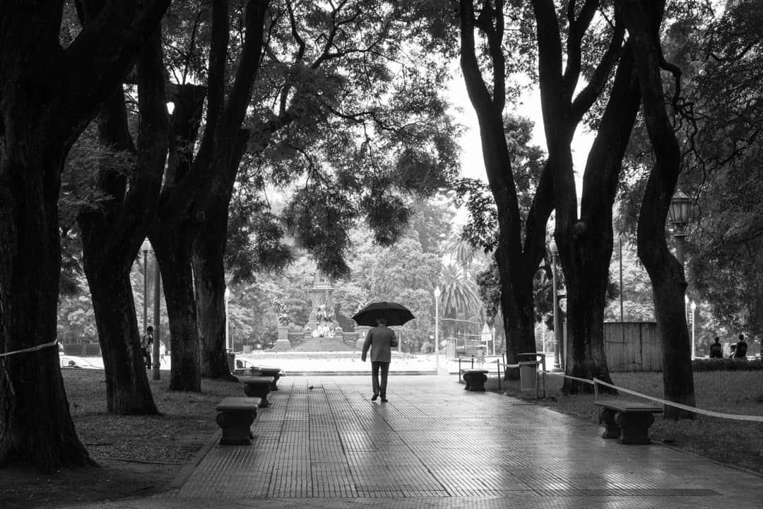 Man Walking 3 Days In Buenos Aires