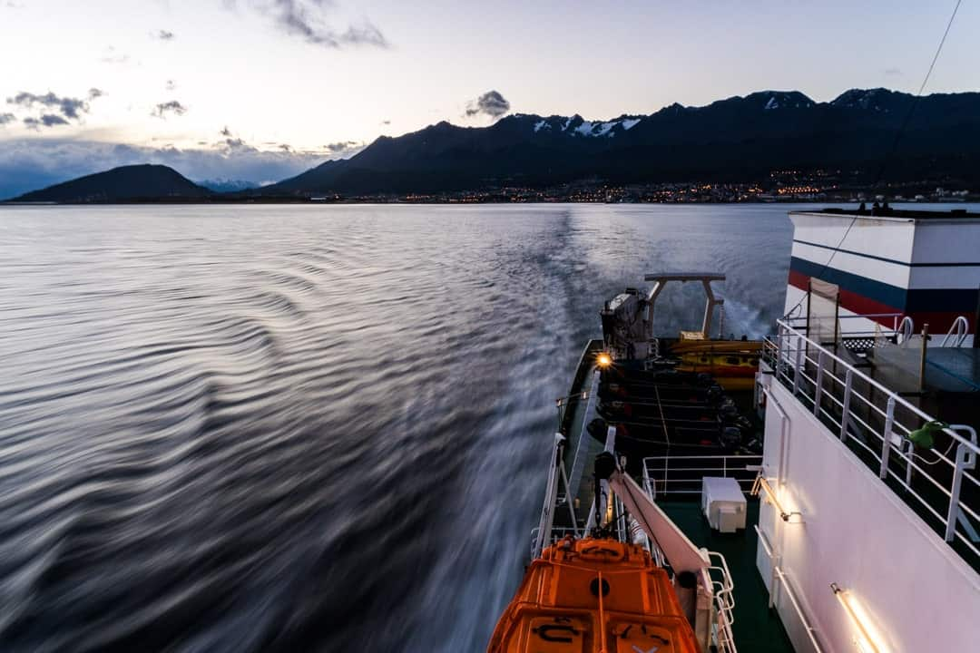 Ushuaia Crossing The Drake Passage