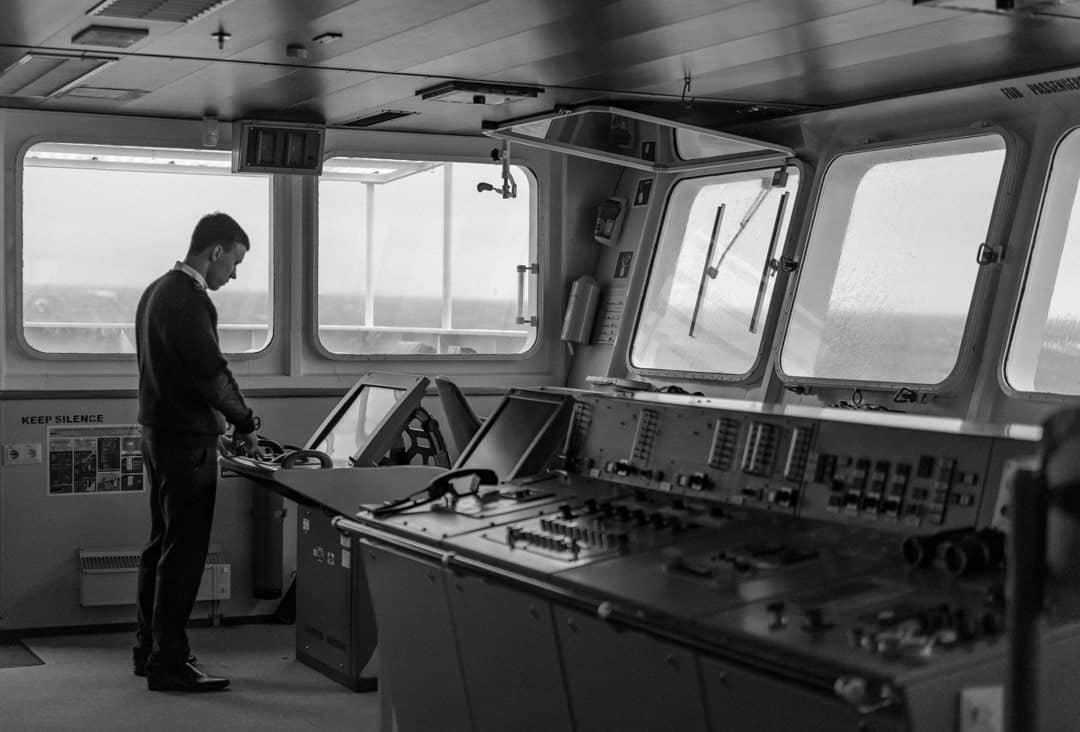 Bridge Crossing The Drake Passage From Ushuaia To Antarctica
