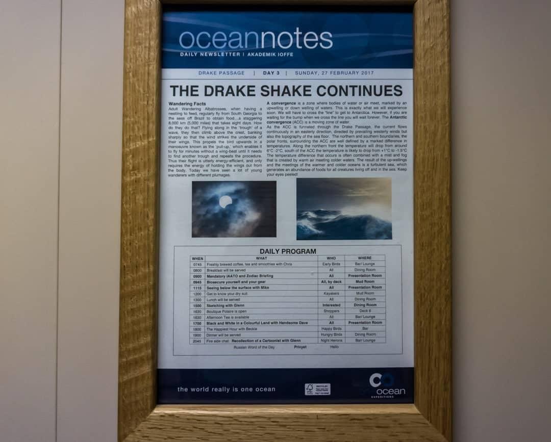Drake Shake Crossing The Drake Passage From Ushuaia To Antarctica
