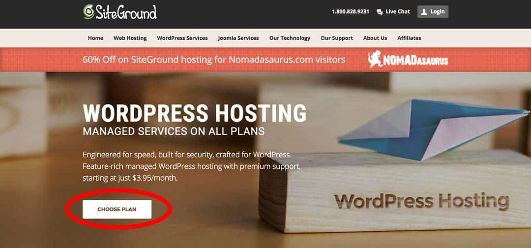 Wordpress Hosting How To Start A Travel Blog