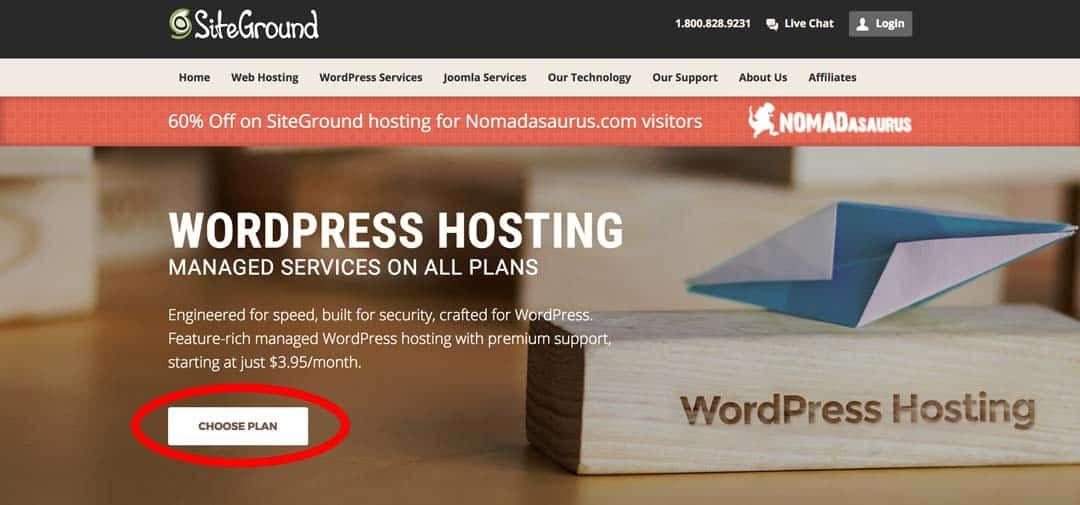 Wordpress Hosting How To Start A Travel Blog