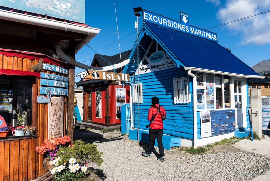 Colourful Buildings Ushuaia