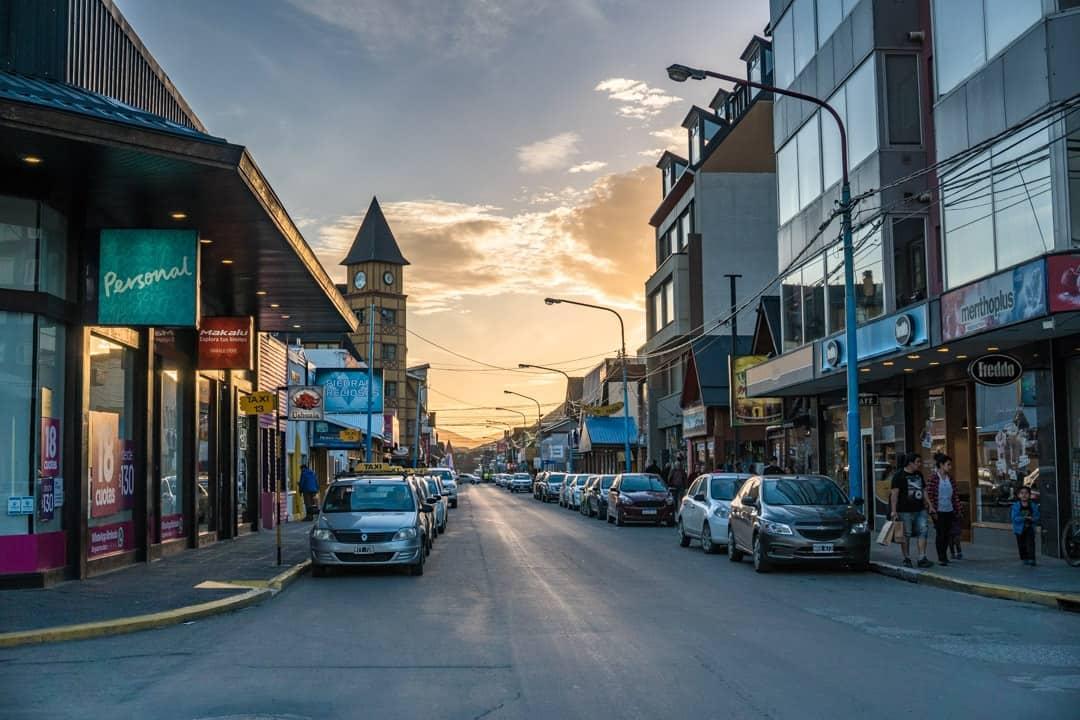 Main Street Ushuaia