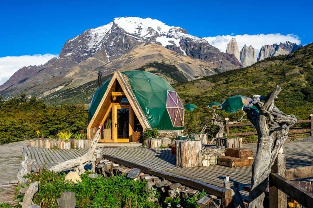 Ecocamp Patagonia Reception