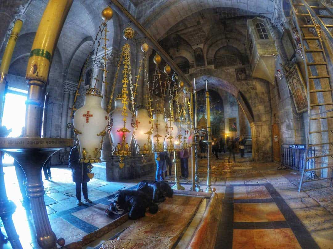 Church of the Holy Sepulchre, Jerusalem, Israel - 20 Breathtaking Photos of Middle East