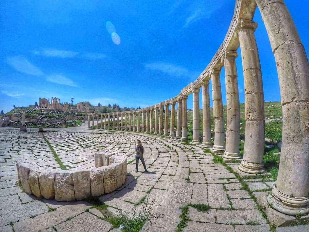 Jaresh Ruins, Jordan - 20 Breathtaking photos of Middle East