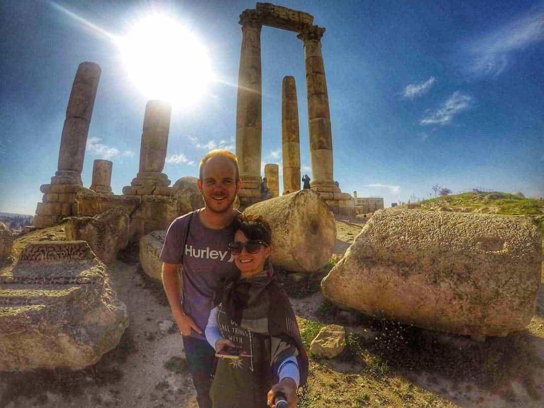 Jaresh ruins in Jordan - 20 Breathtaking photos of Middle East