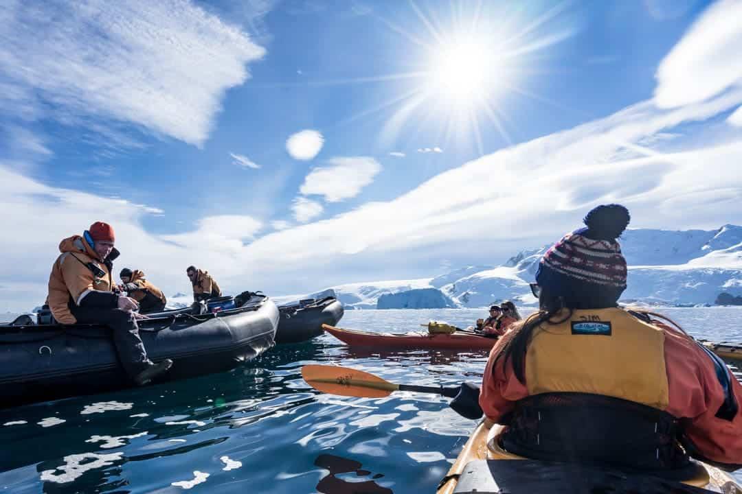 Baileys Kayak Antarctica