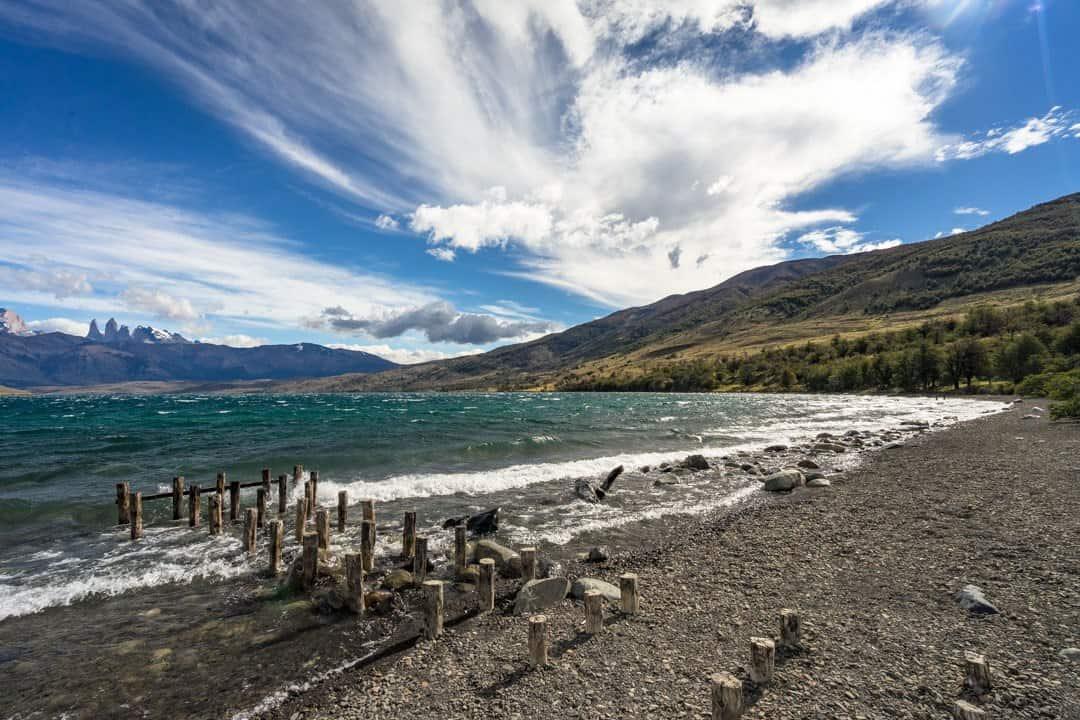 Laguna Azul Torres Del Paine
