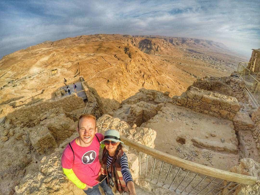 Masada Fortress, Israel - 20 Breathtaking photos of Middle East