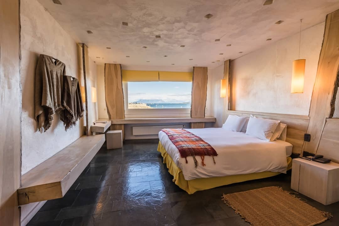 Remota Hotel Puerto Natales Bedroom