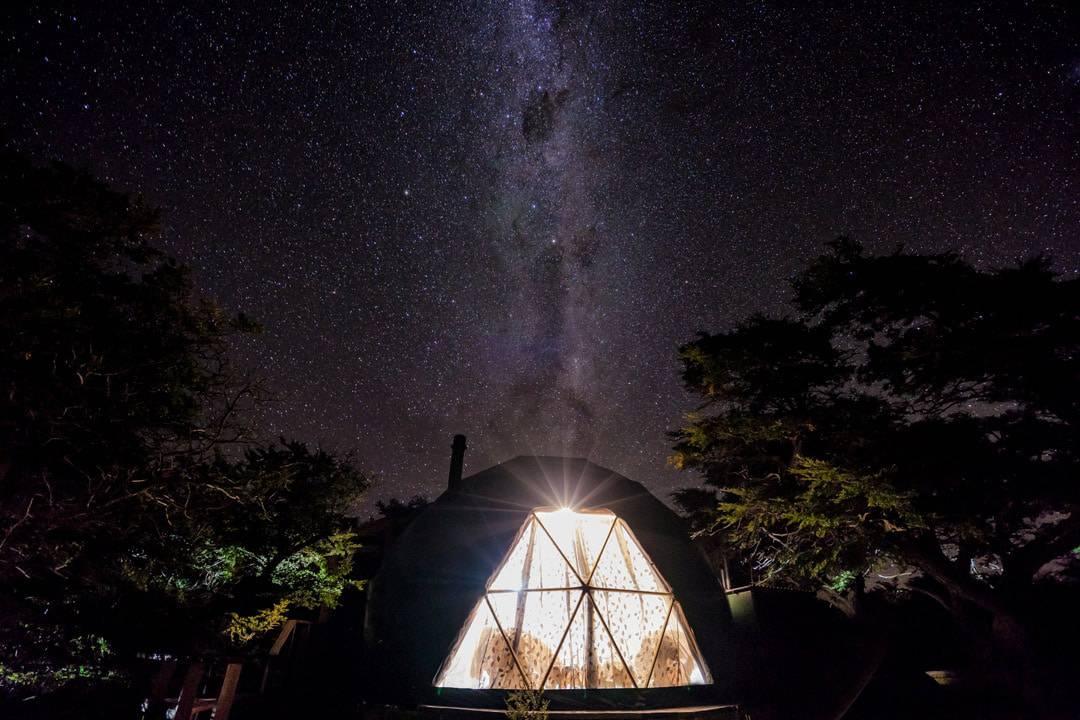 Ecocamp Patagonia Torres Del Paine Milky Way