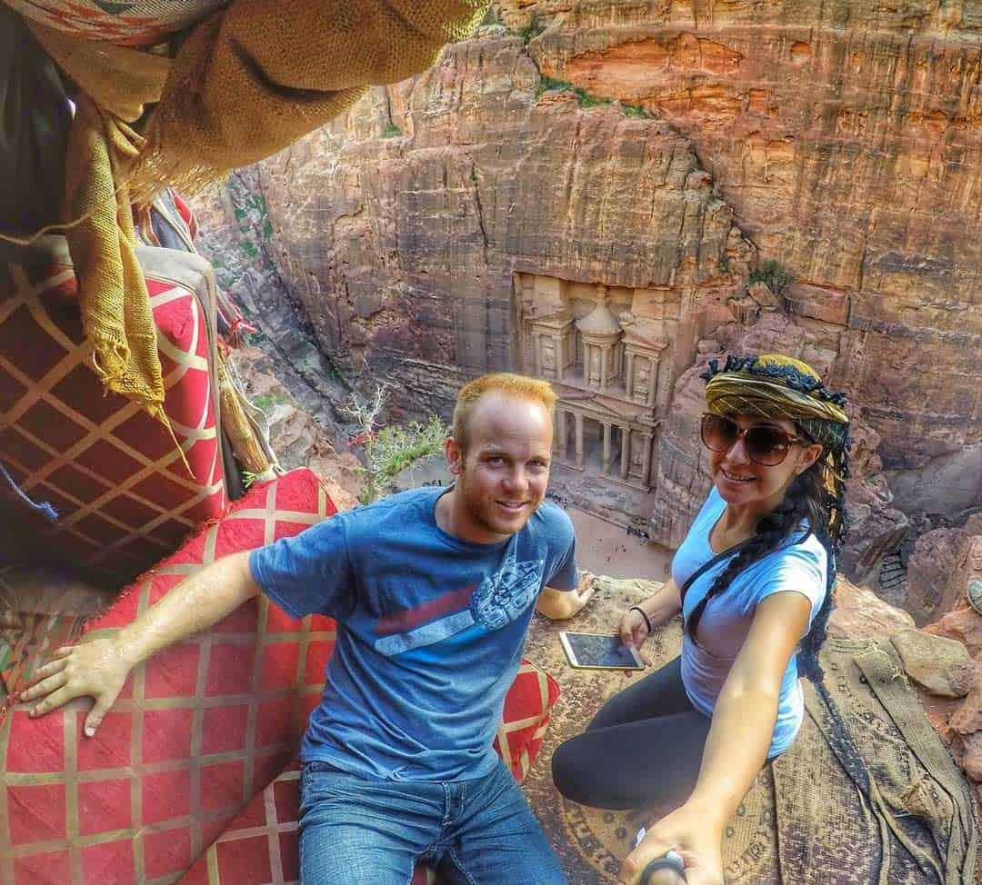 Treasury at Petra, Jordan - 20 Breathtaking Photos of Middle East