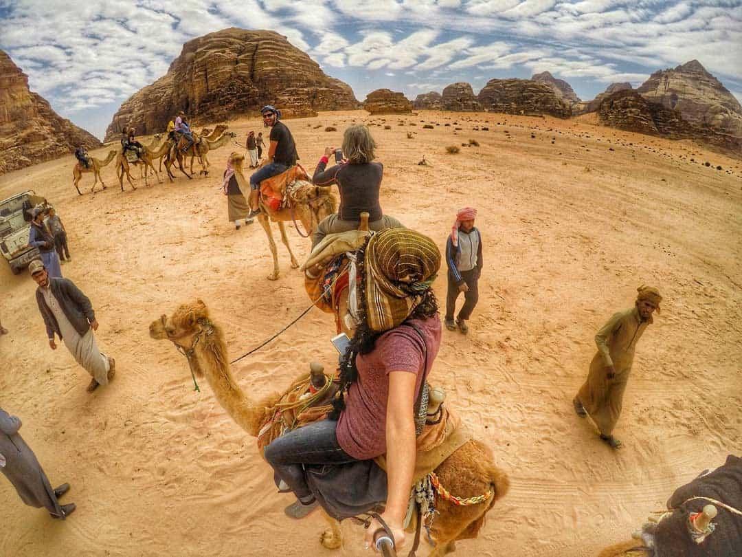 Camel Ride in Wadi Rum, Jordan - 20 Breathtaking photos of Middle East