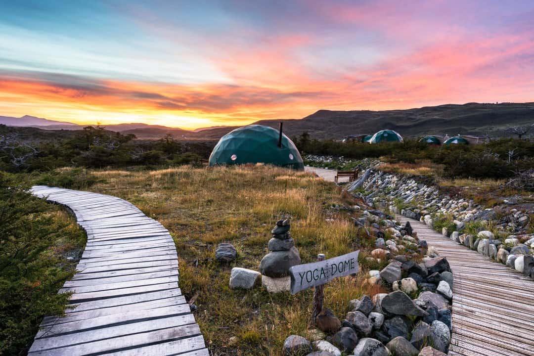 Yoga Dome Ecocamp