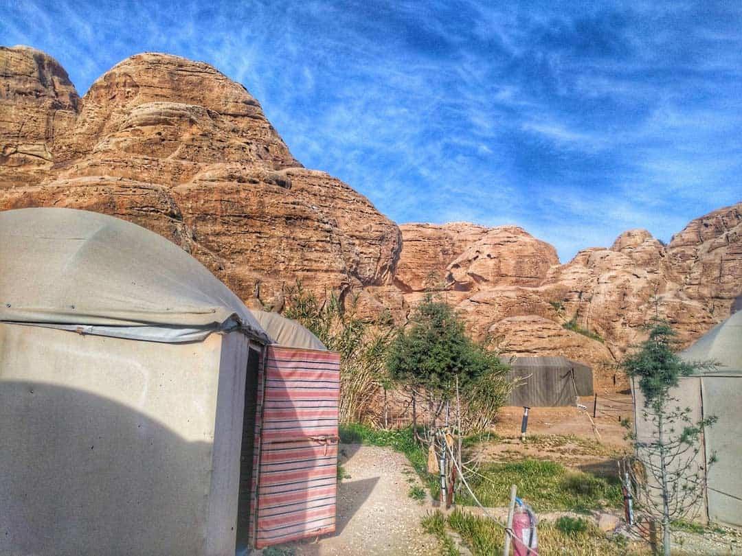 Yurt Bedouin Camp Wadi Musa, Jordan - 20 Breathtaking Photos of Middle East