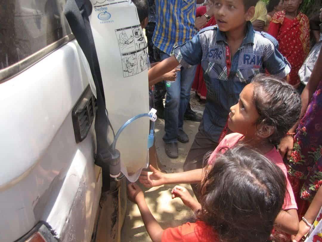 Dayone Waterbag Has Saved Many Lives