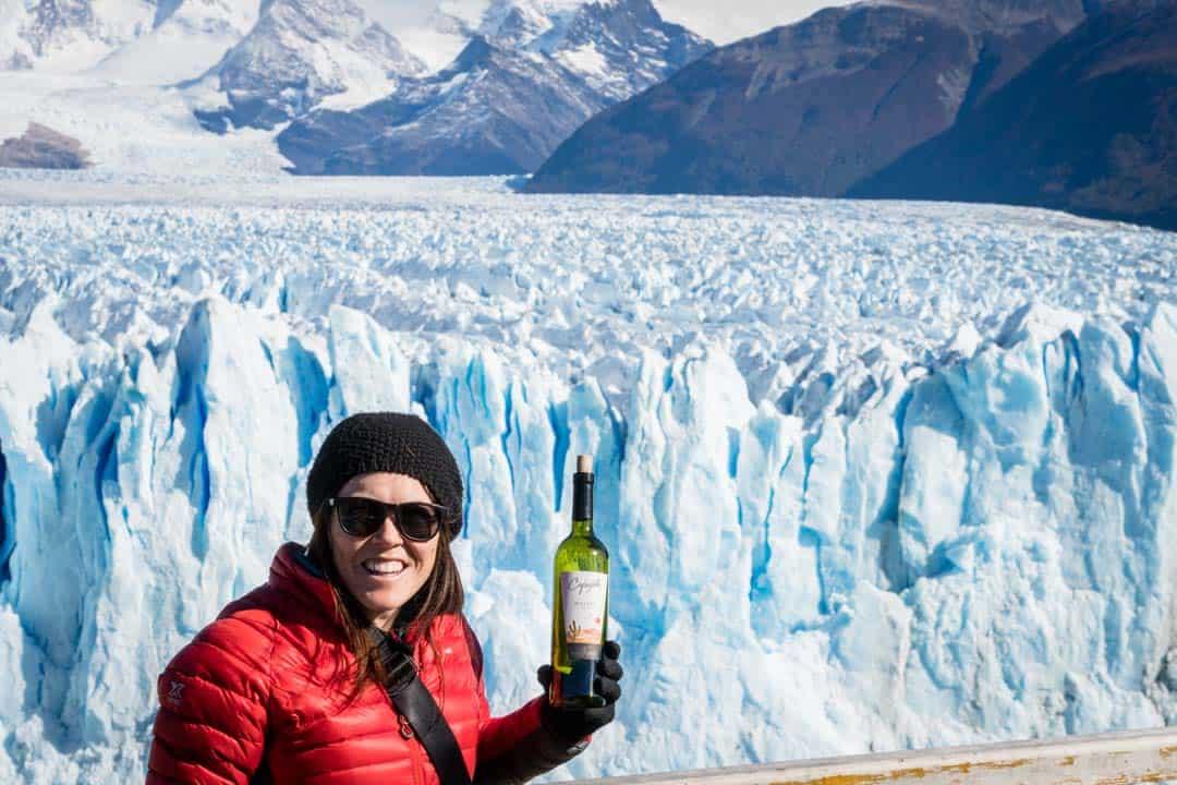 Wine Perito Moreno Glacier El Calafate