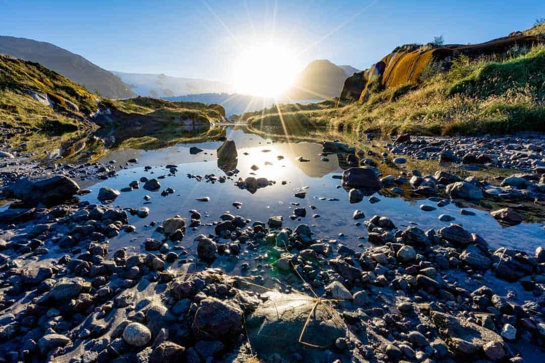 Amalia Glacier Chile Patagonia