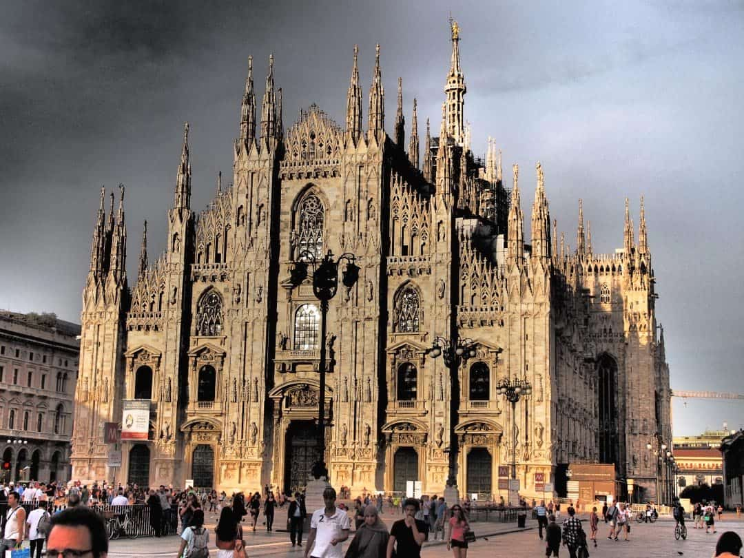 Cathedral (Duomo) of Milan - The Mongol Rally Diaries Week 1