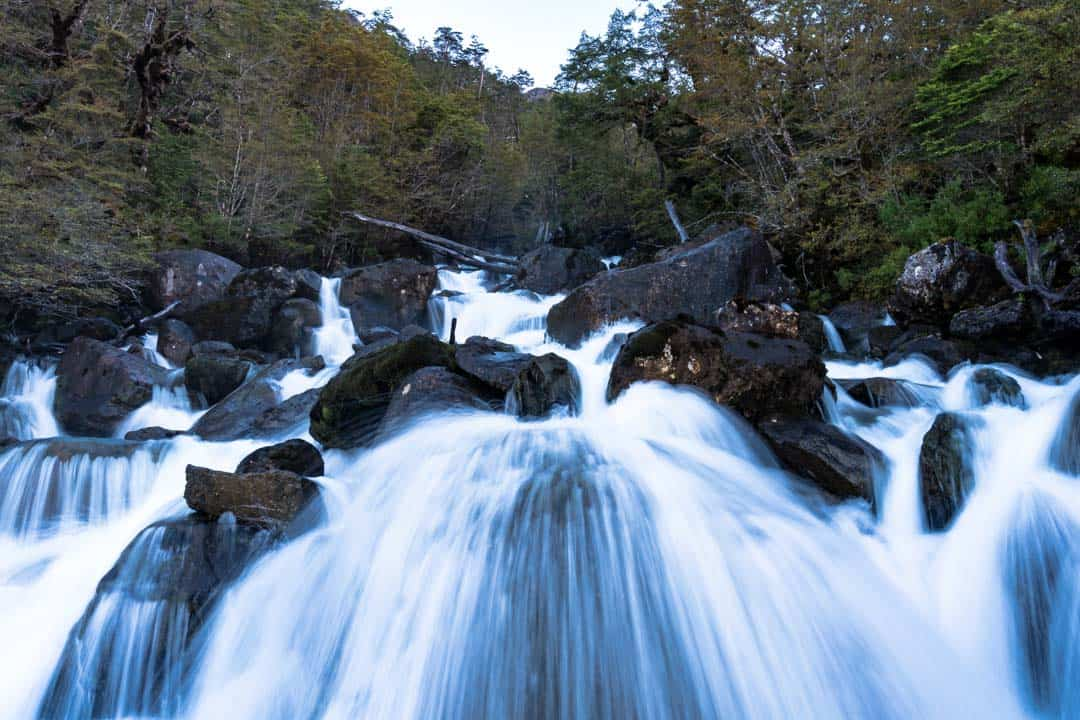 Calvo Fjord Waterfall Skorpios Cruise