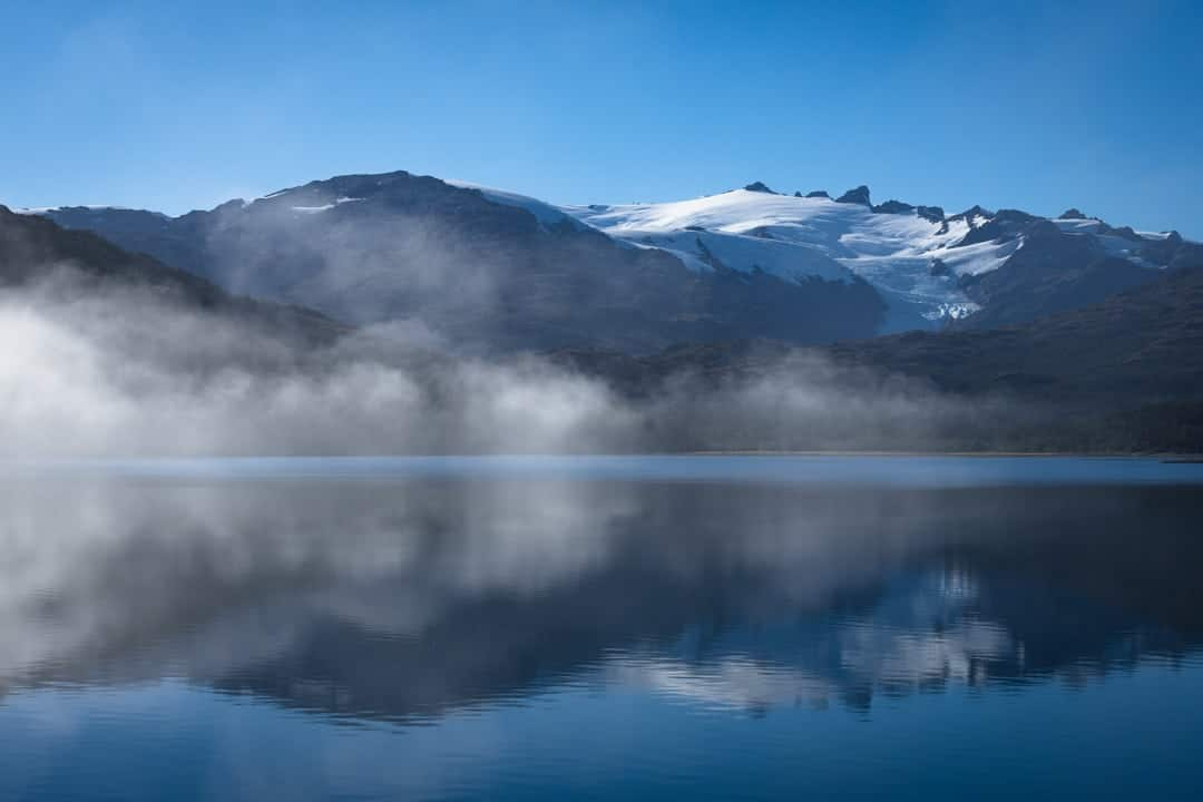 Misty Morning Chilean Fjords