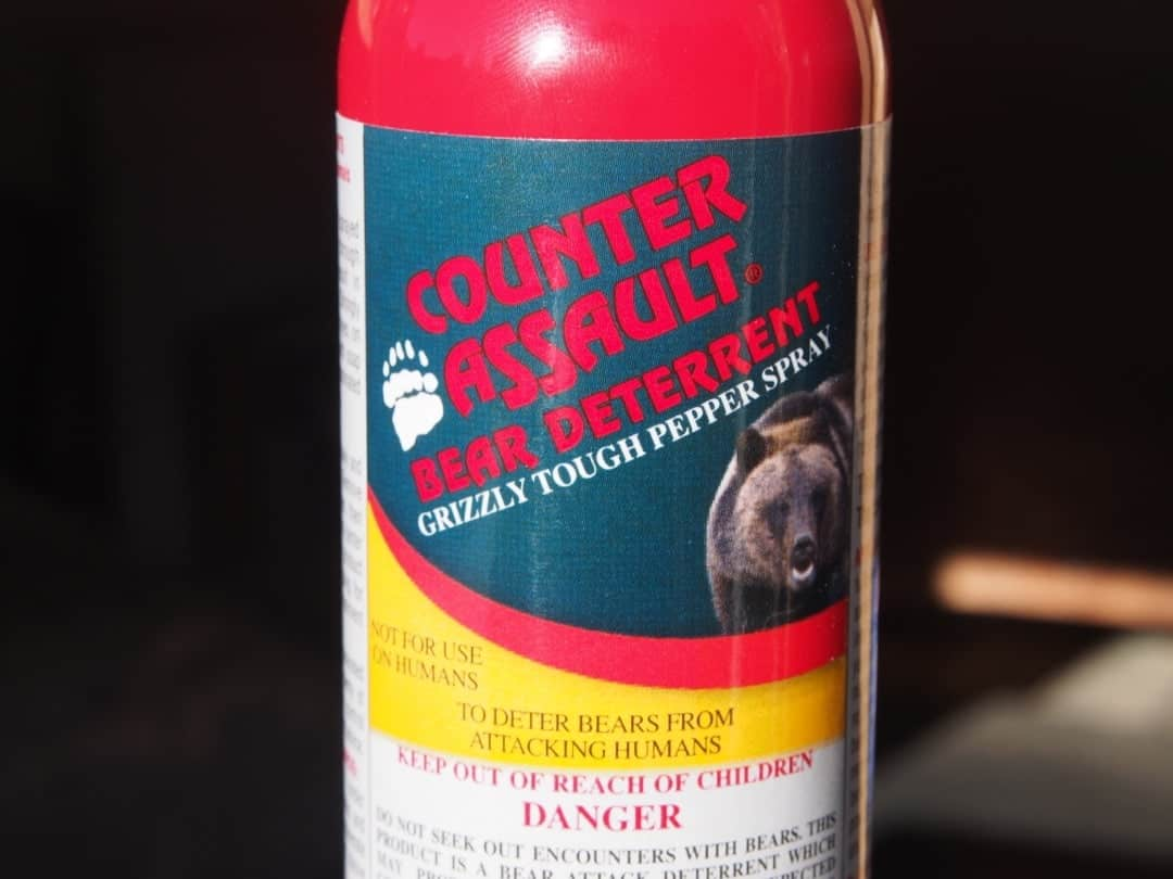Don't Forget Your Bear Spray In Bear Country