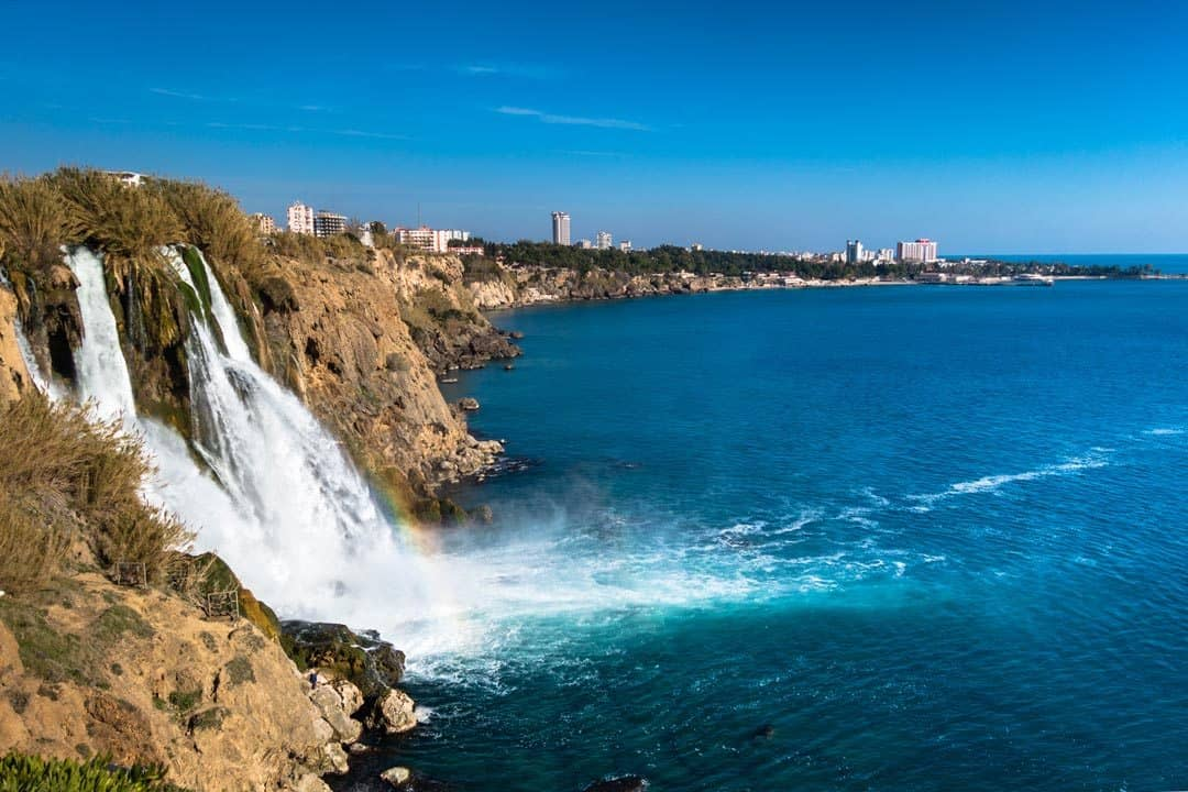Duden Waterfall Things To Do In Antalya Turkey