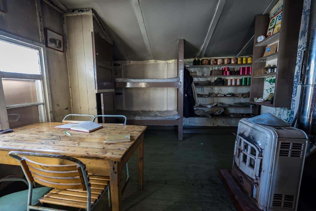 Main Room Wordie House Antarctica