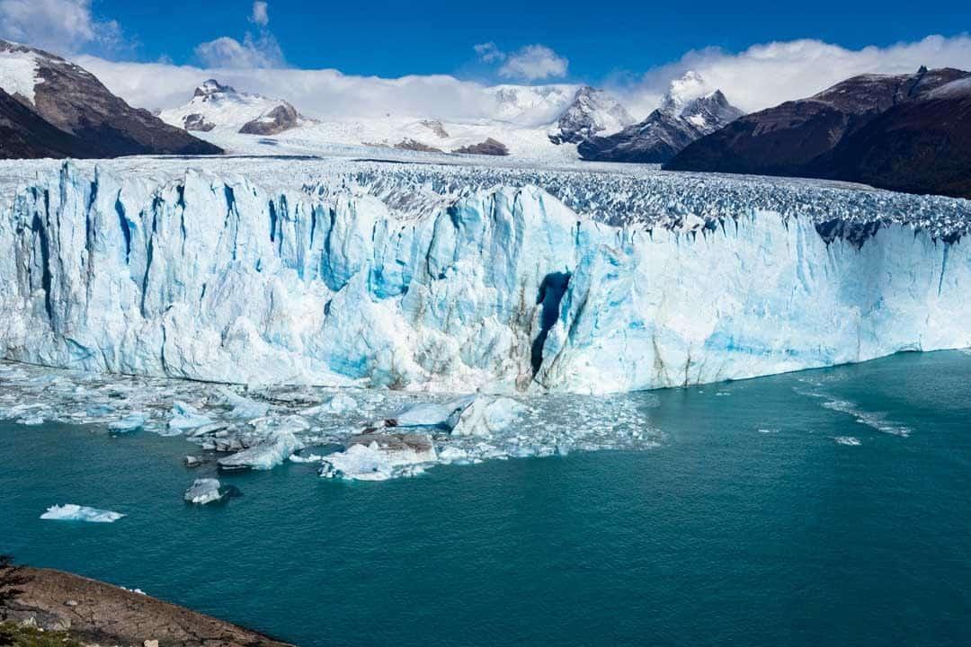 Calving Perito Moreno Glacier El Calafate