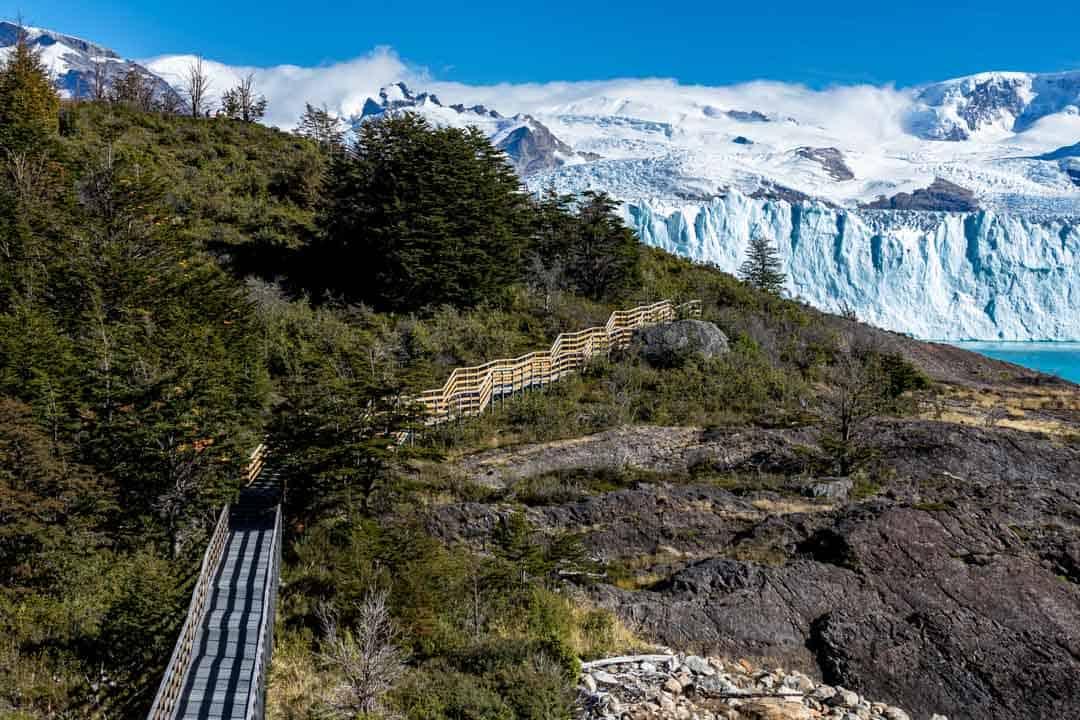 Boardwalk Perito Moreno Glacier El Calafate