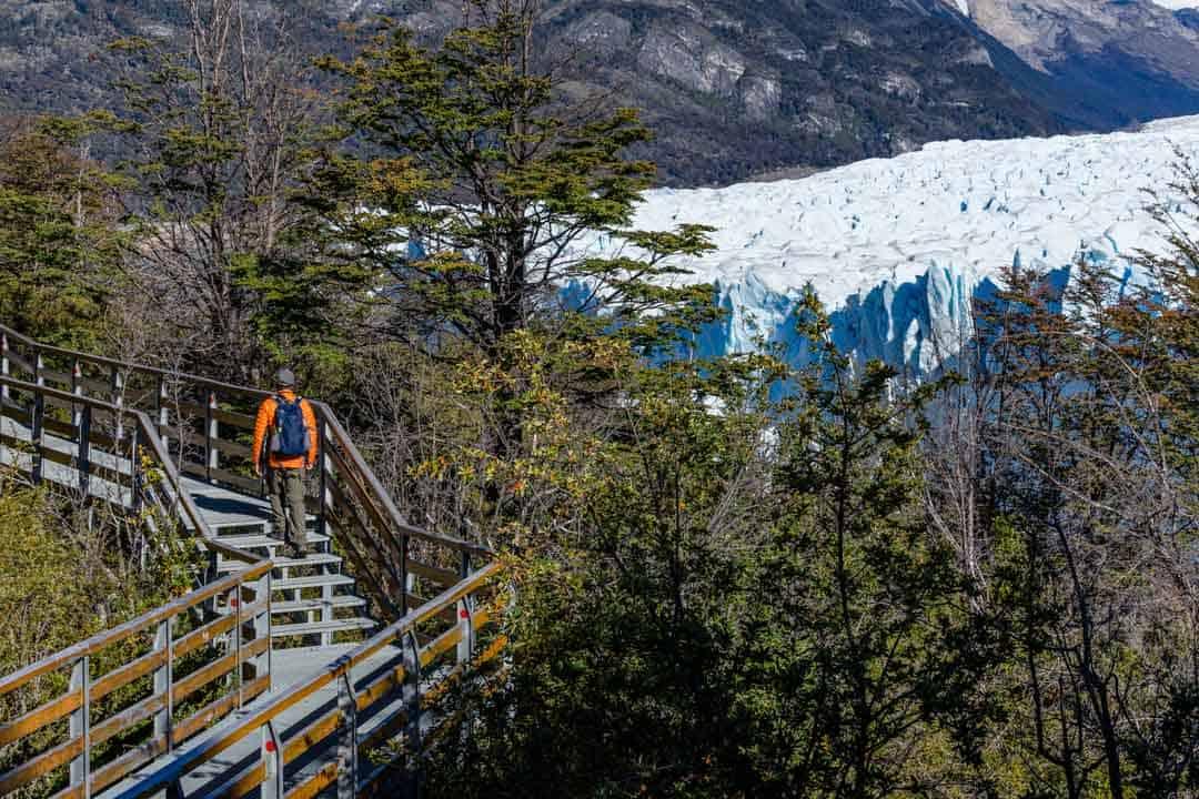 Walking Perito Moreno Glacier El Calafate