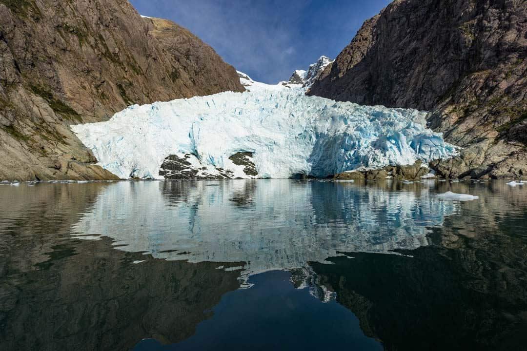 Alsina Glacier Chile Patagonia