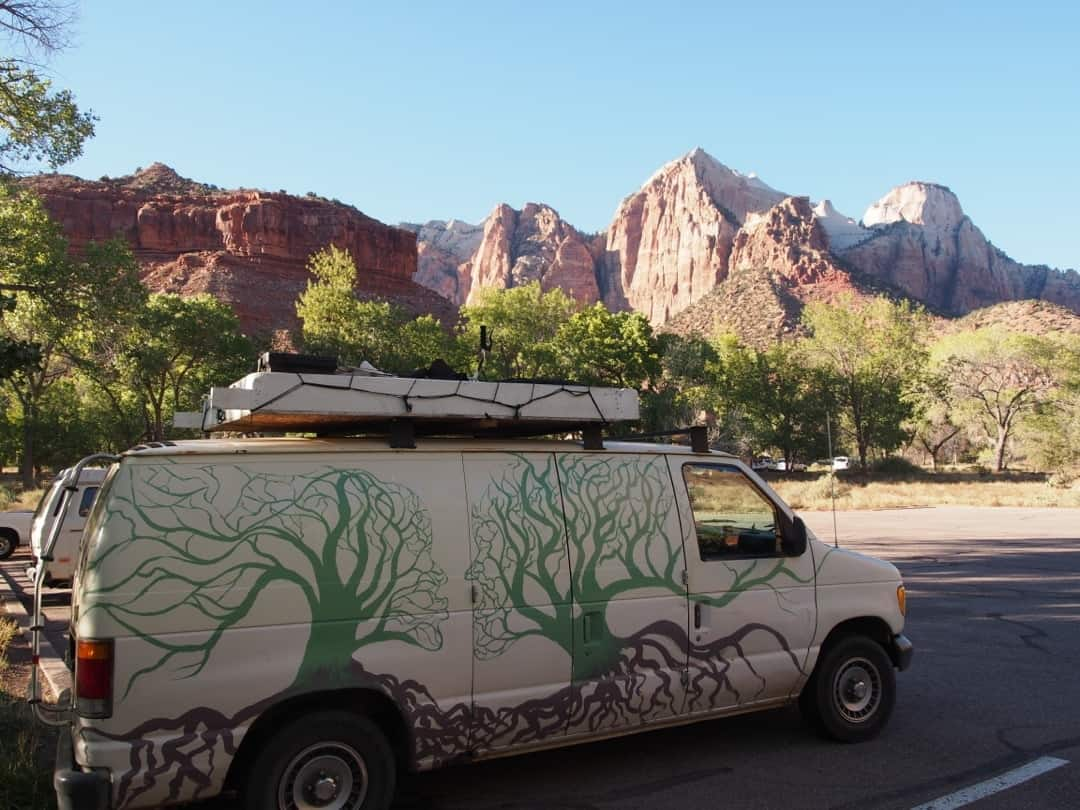 The General - Not So Stealth After A New Paint Job At Zion National Park Utah