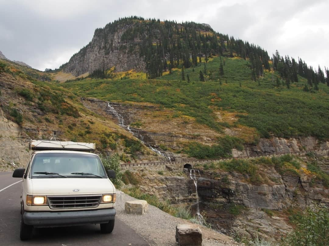 The General On The Going To The Sun Road Glacier N.p. Montana - Stealth Camping In National Parks