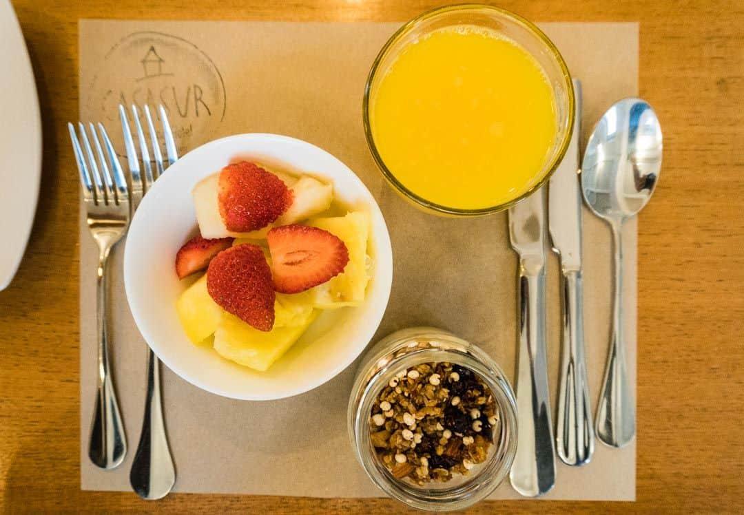 Breakfast Best Boutique Hotel In Santiago Casasur Charming Hotel Review