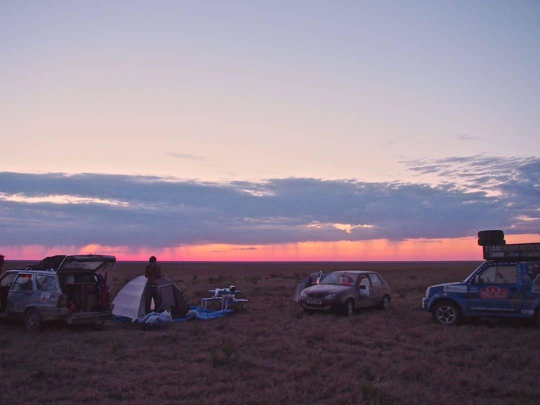 Good Morning In The Kazakh Desert