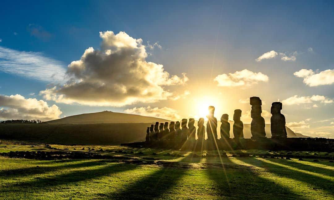 Ahu Tongariki Sunrise Things To Do In Easter Island