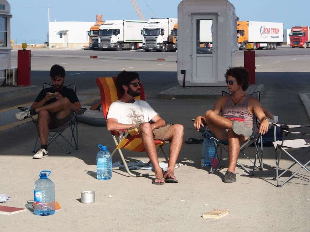 The Waiting Game - the Mongol Rally Diaries
