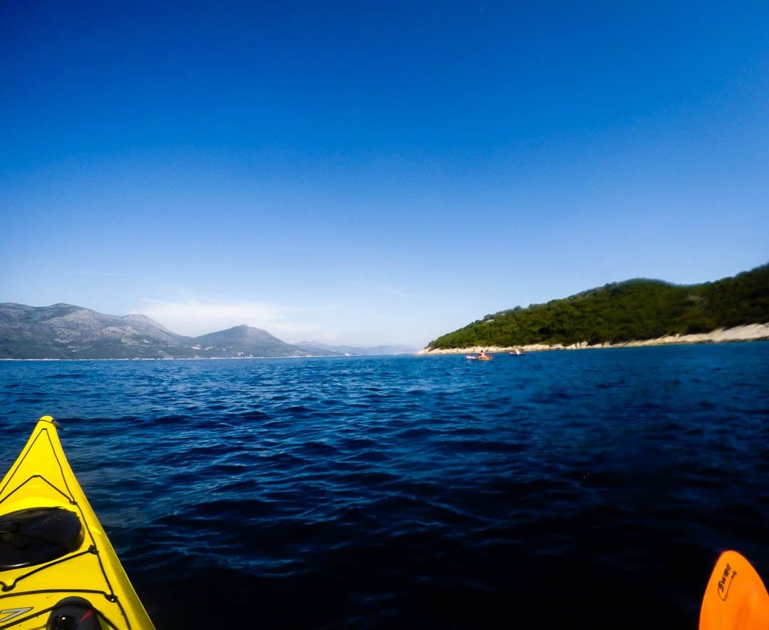 View From The Kayak - Kayaking In Dubrovnik