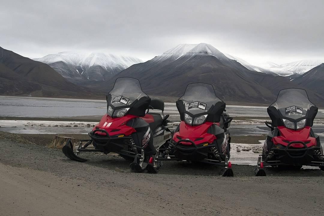 Snowmobiles - Adventure Activities In Svalbard