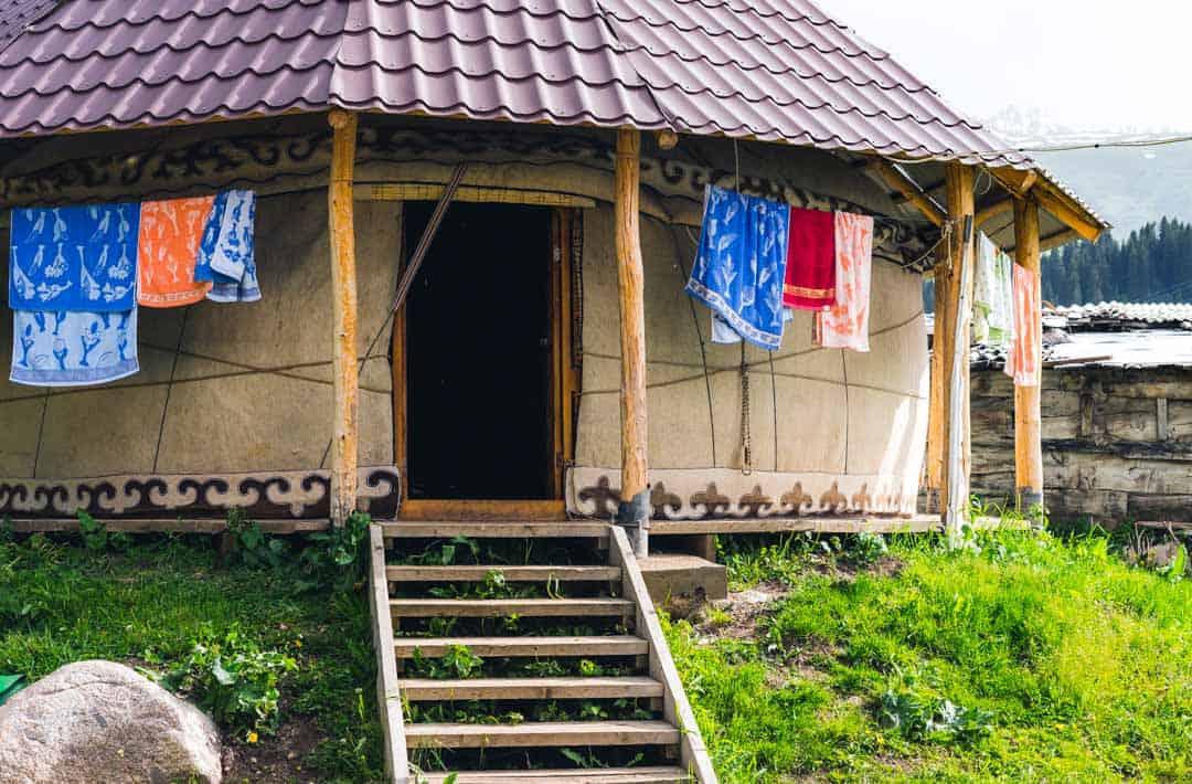 Yurt Jyrgalan Village Kyrgyzstan