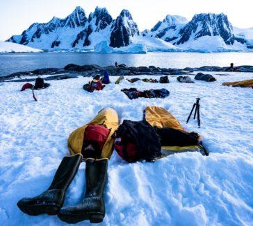 Bivy Sack Camping In Antarctica