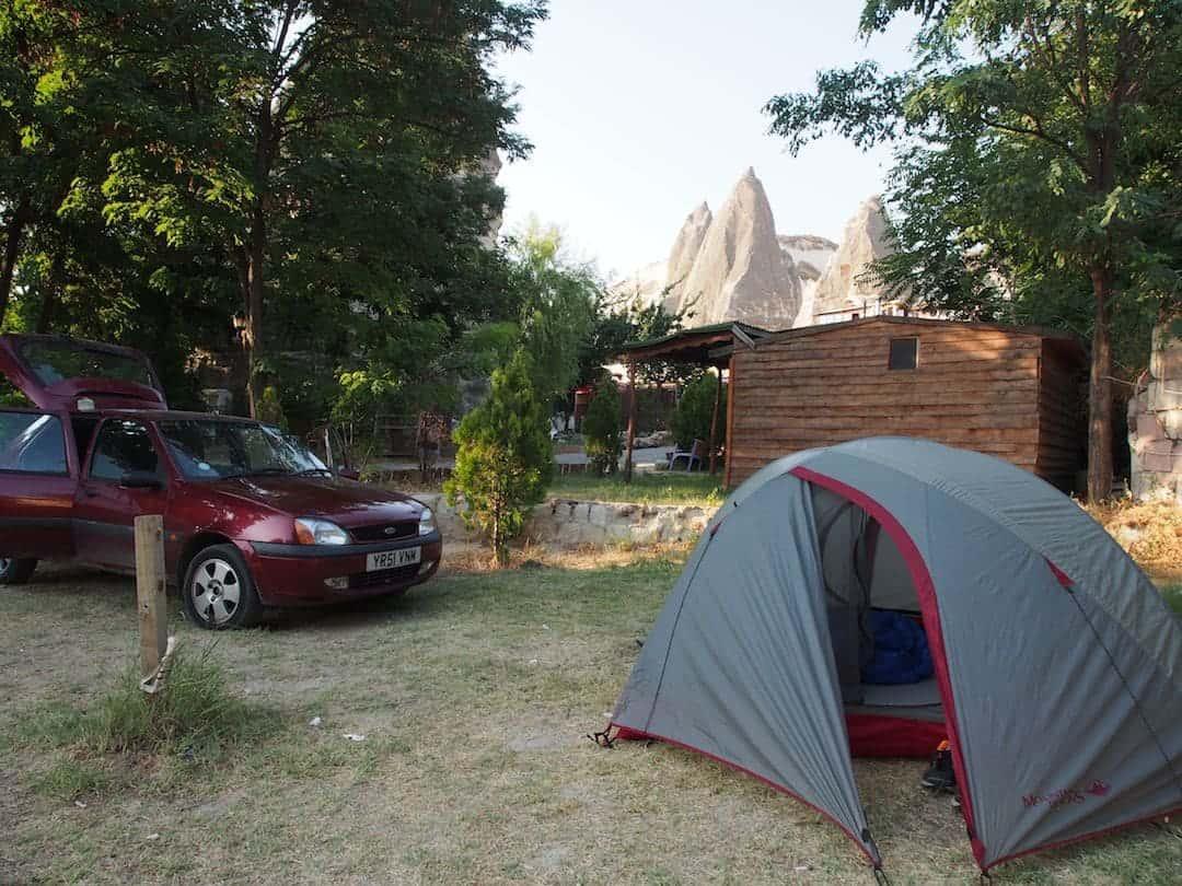 Camping In Cappadocia, Turkey